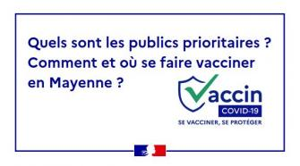 Campagne de vaccination en Mayenne